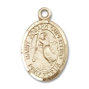 St. Joseph of Cupertino Charm - 14 Karat Gold Filled (#84628)