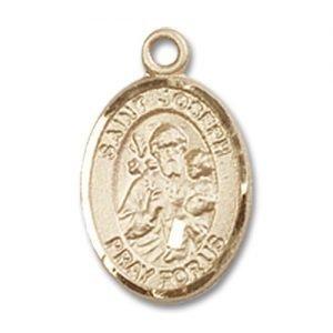St. Joseph Charm - 14 Karat Gold Filled (#84631)