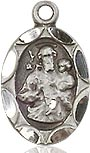 St. Joseph Charm - Sterling Silver  (#84416)