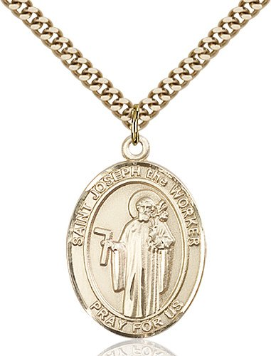 St. Joseph the Worker Medal - 82496 Saint Medal