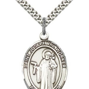 St. Joseph the Worker Medal - 82498 Saint Medal