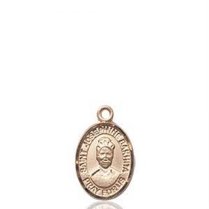 St. Josephine Bakhita Charm - 14 KT Gold (#85395)