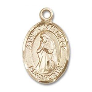 St. Juan Diego Charm - 14 Karat Gold Filled (#84778)