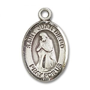 St. Juan Diego Charm - Sterling Silver (#84780)