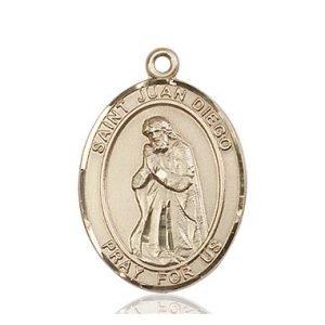 St. Juan Diego Medal - 82221 Saint Medal