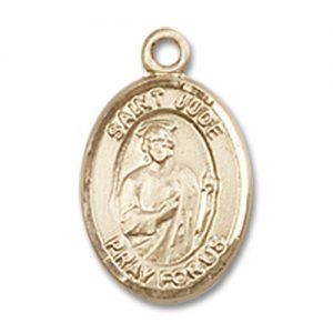 St. Jude Thaddeus Charm - 14 Karat Gold Filled (#84637)