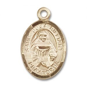 St. Julia Billiart Charm - 14 Karat Gold Filled (#85155)