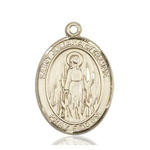 St. Juliana Medal - 82869 Saint Medal