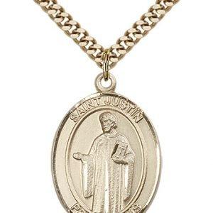 St. Justin Medal - 82056 Saint Medal