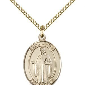 St. Justin Medal - 83422 Saint Medal