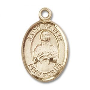 Saint Kateri Charm - 14 Karat Gold Filled (#84640)