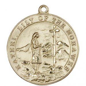St. Kateri Medal - 81875 Saint Medal