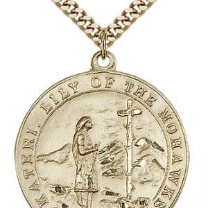 St. Kateri Medal - 81874 Saint Medal