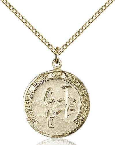 St. Kateri Medal - 81877 Saint Medal