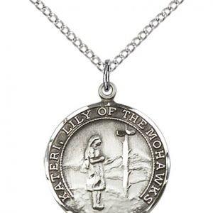 St. Kateri Medal - 81879 Saint Medal
