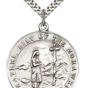 St. Kateri Medal - 81876 Saint Medal