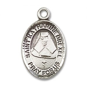 St. Katharine Drexel Charm - Sterling Silver (#84498)
