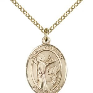 St. Kenneth Medal - 84138 Saint Medal