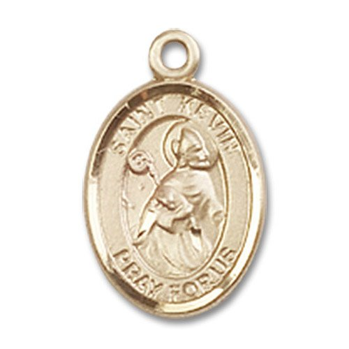 St. Kevin Charm - 14 Karat Gold Filled (#84643)