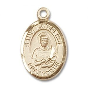 St. Lawrence Charm - 14 Karat Gold Filled  (#84646)