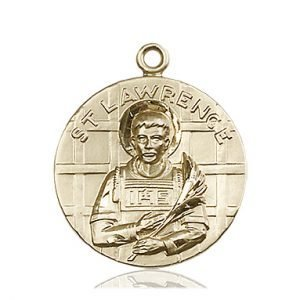 St. Lawrence Medal - 81656 Saint Medal
