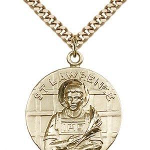 St. Lawrence Medal - 81655 Saint Medal