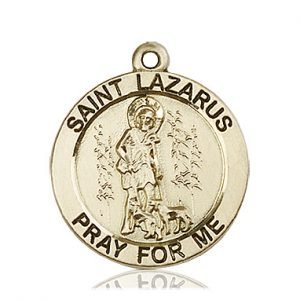 St. Lazarus Medal - 81762 Saint Medal