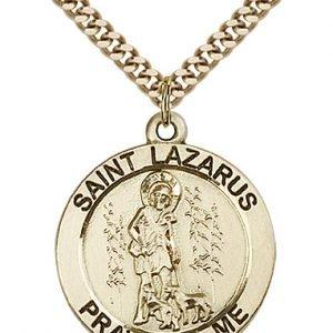 St. Lazarus Medal - 81761 Saint Medal