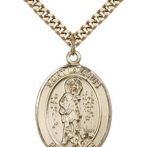 St. Lazarus Medal - 82098 Saint Medal