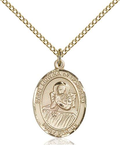 St. Lidwina of Schiedam Medal - 84042 Saint Medal