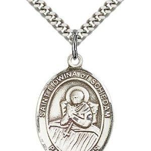 St. Lidwina of Schiedam Medal - 82672 Saint Medal