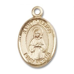 St. Lillian Charm - 14 Karat Gold Filled (#85072)