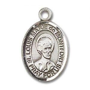 St. Louis Marie De Montfort Charm - Sterling Silver (#85321)