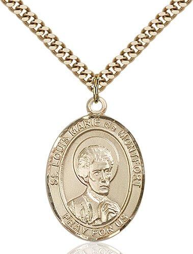 St. Louis Marie De Montfort Medal - 82760 Saint Medal