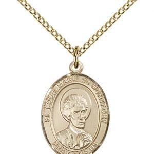 St. Louis Marie De Montfort Medal - 84132 Saint Medal