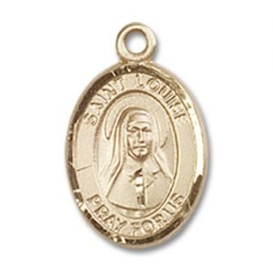 St. Louise De Marillac Charm - 14 Karat Gold Filled (#84649)