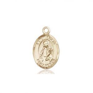 St. Lucia of Syracuse Charm - 84653 Saint Medal