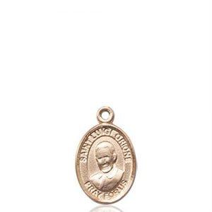 St. Luigi Orione Charm - 14 KT Gold (#85308)