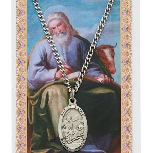 St Luke Pendant and Prayer Card