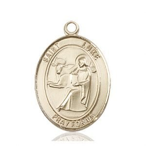 St. Luke the Apostle Medal - 82105 Saint Medal