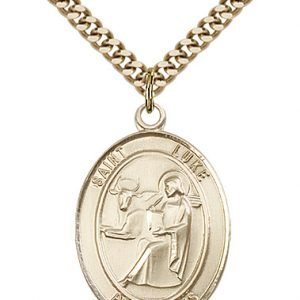 St. Luke the Apostle Medal - 82104 Saint Medal