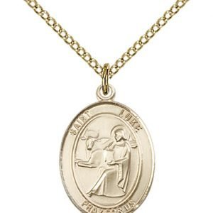 St. Luke the Apostle Medal - 83470 Saint Medal