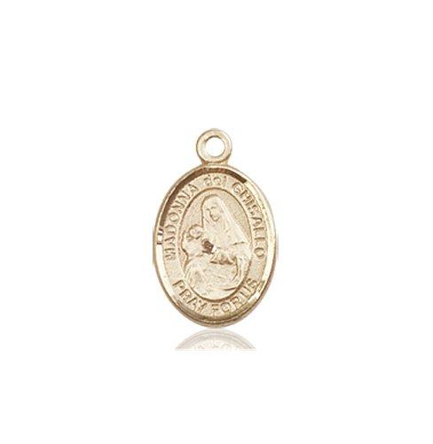 St. Madonna Del Ghisallo Charm - 85019 Saint Medal