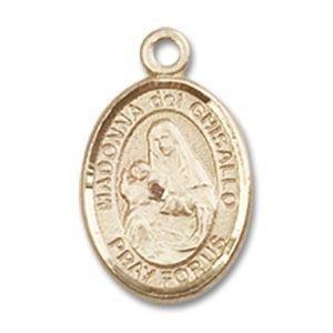 St. Madonna Del Ghisallo Charm - 14 Karat Gold Filled (#85018)