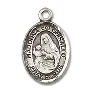 Madonna Del Ghisallo Charm - Sterling Silver (#85020)