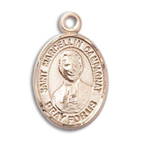 St. Marcellin Champagnat Charm - 14 Karat Gold Filled (#84825)