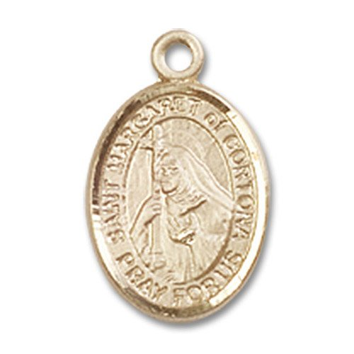 St. Margaret of Cortona Charm - 14 Karat Gold Filled (#85238)