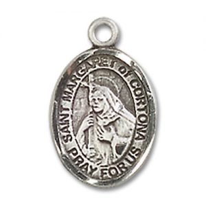 St. Margaret of Cortona Charm - Sterling Silver (#85240)