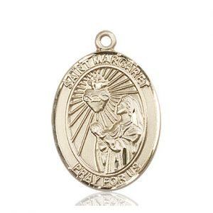 St. Margaret Mary Alacoque Medal - 82117 Saint Medal
