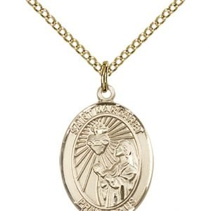 St. Margaret Mary Alacoque Medal - 83482 Saint Medal